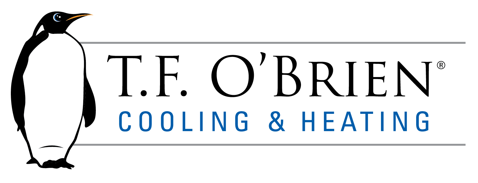 tf o'brien cooling and heating long island logo