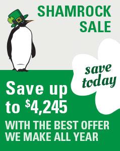 TFO ShamrockSale save $4,245